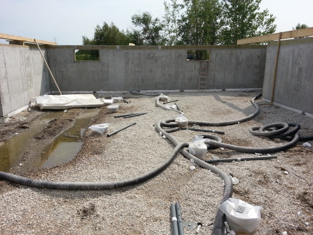 Building A House On Screw Piles Manitoba Screw Piles