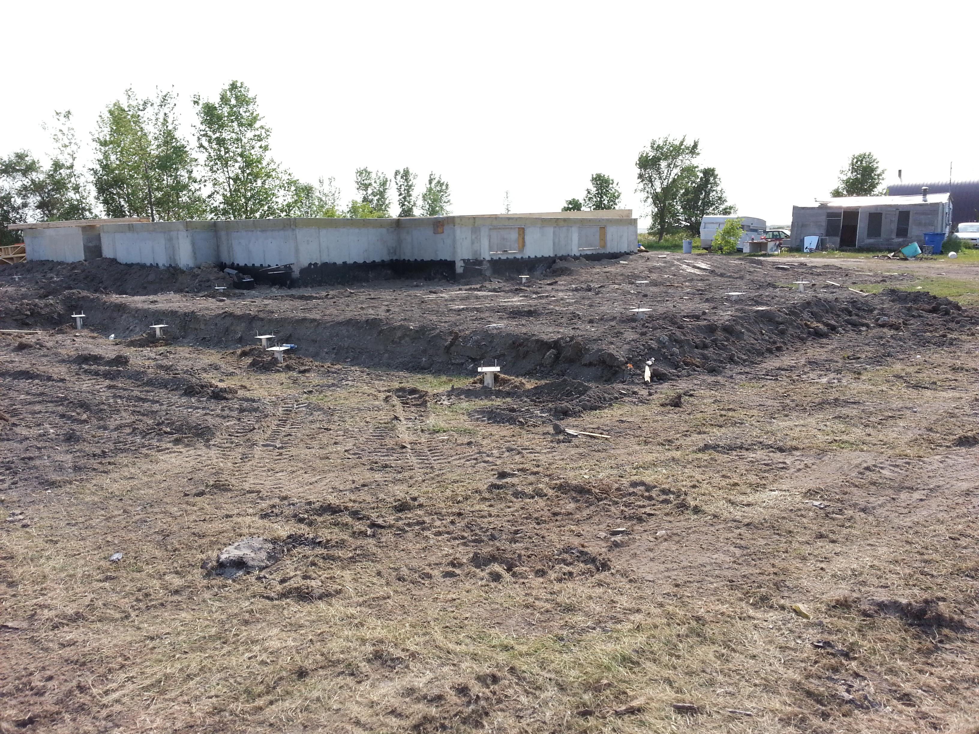 Postech Screw Piles Winnipeg
