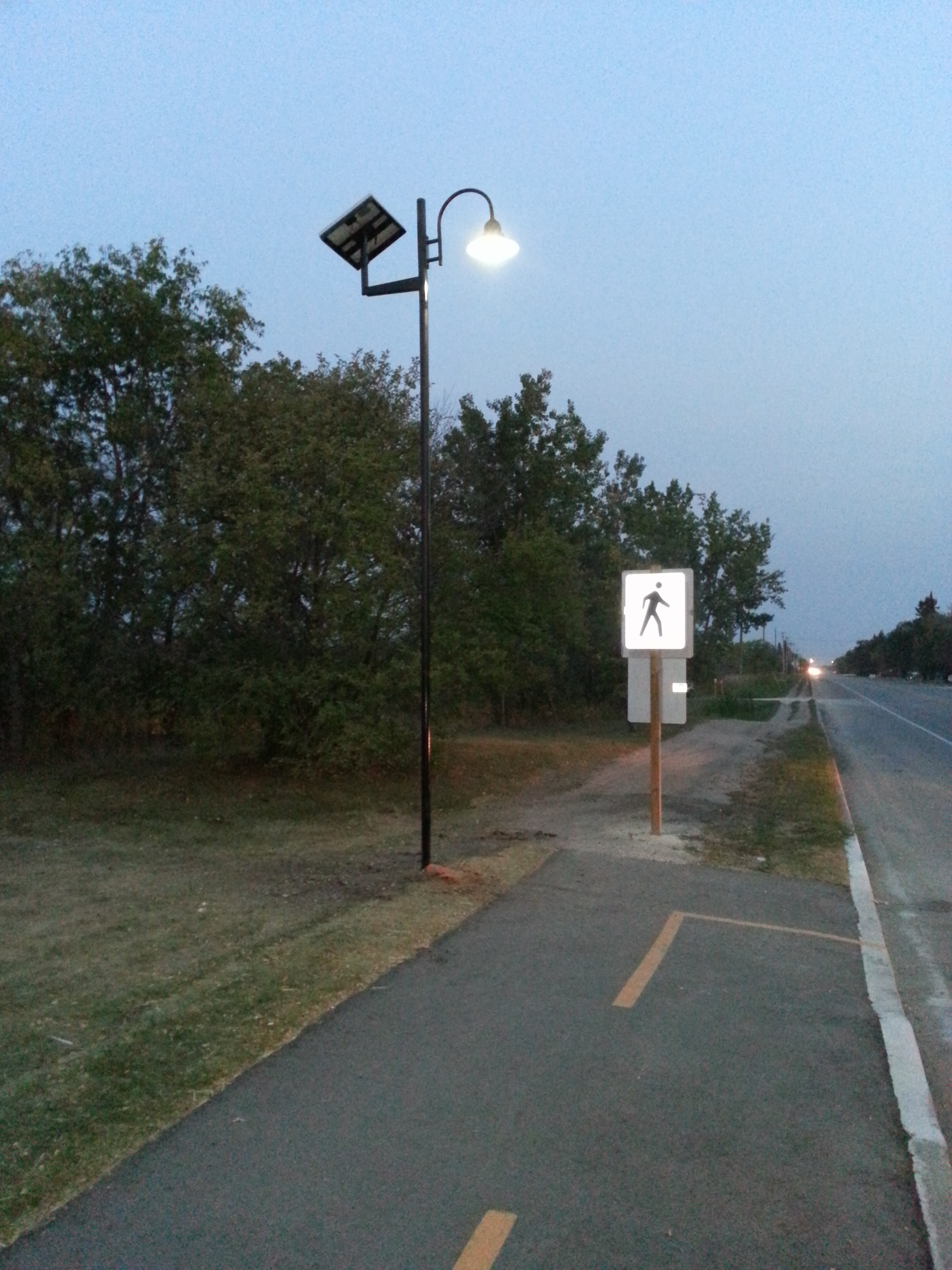 Solar and LED Street Light Standards in Stonewall, Manitoba ...