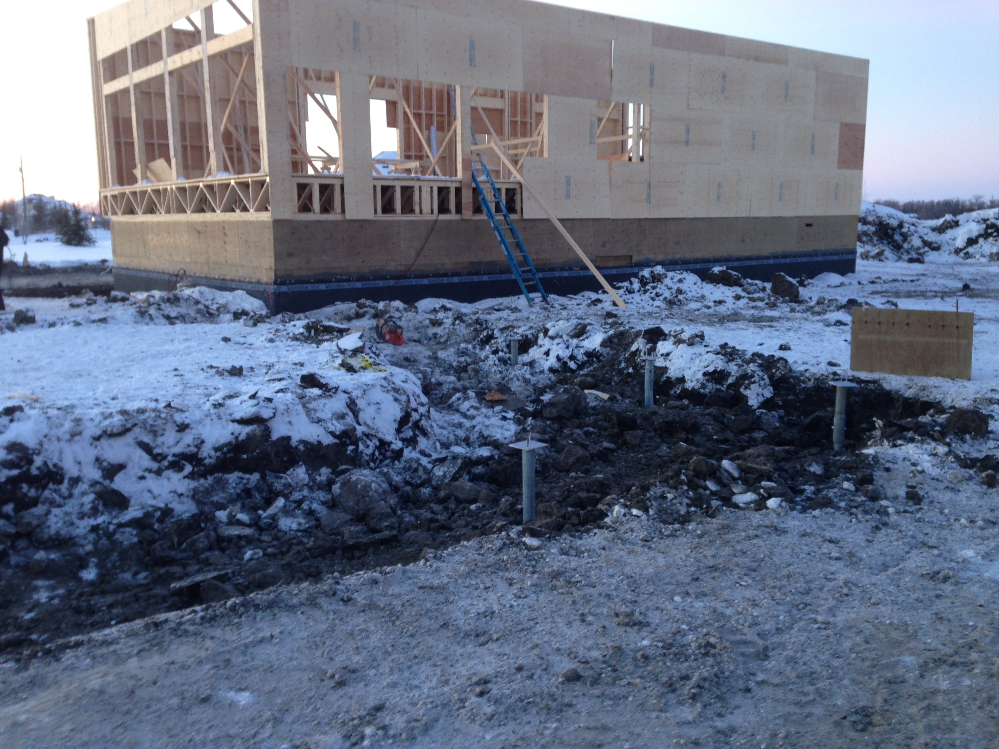Heavy Duty Screw Piles For Home And Garage In East St