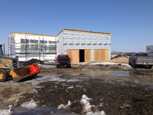 New Home Built On Postech Helical Screw Piles in Narol Manitoba