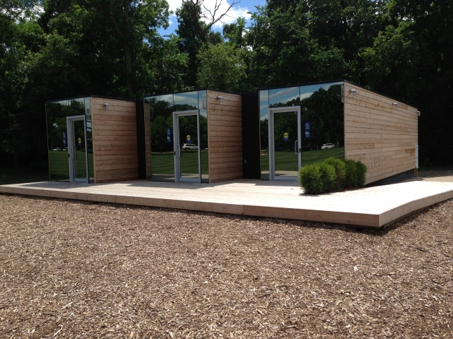 An Eco-Friendly Foundation for an Eco-Friendly Washroom Facility