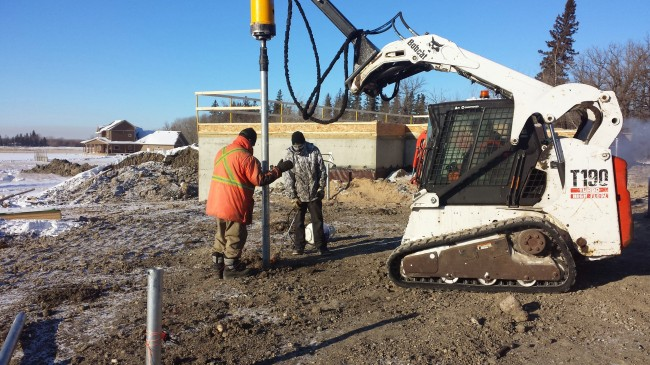 Winnipeg's Frozen Soil Piling Contractors