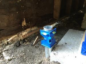 Under Porch Install 1