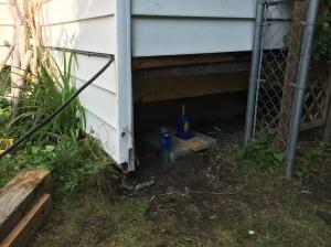 Under Porch Install 5
