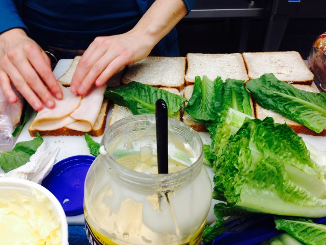 Fuel 4 School Preparing Lunches